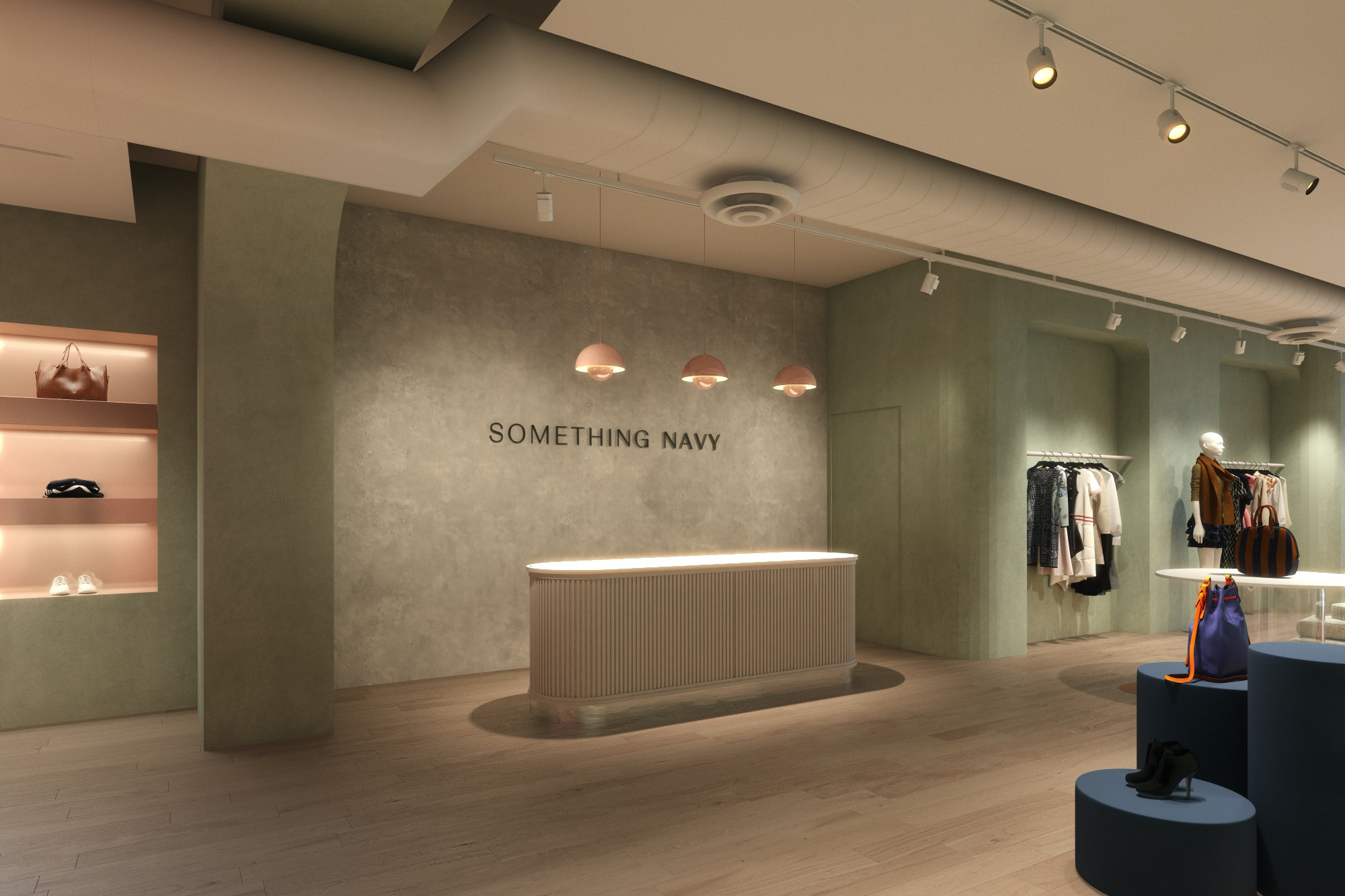 Something Navy is opening seven stores this year in Dallas, Chicago, New York, Los Angeles and Miami. Courtesy.