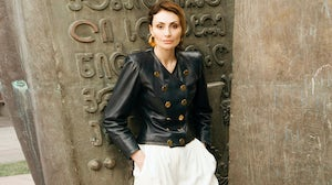 Sofia Tchkonia, founder of Mercedes-Benz Fashion Week Tbilisi and now also the force behind the Georgian Fashion Foundation and its GFF Prize. Georgian Fashion Foundation