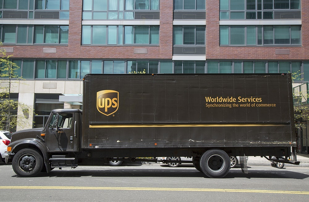 UPS delivery truck | Source: Shutterstock