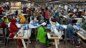 A garment factory on the outskirts of Dhaka, Bangladesh | Source: Getty