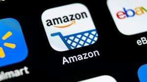 Amazon app. Shutterstock