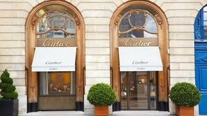 Richemont-owned Cartier store. Shutterstock.