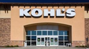 Kohl's retail storefront | Source: Shutterstock