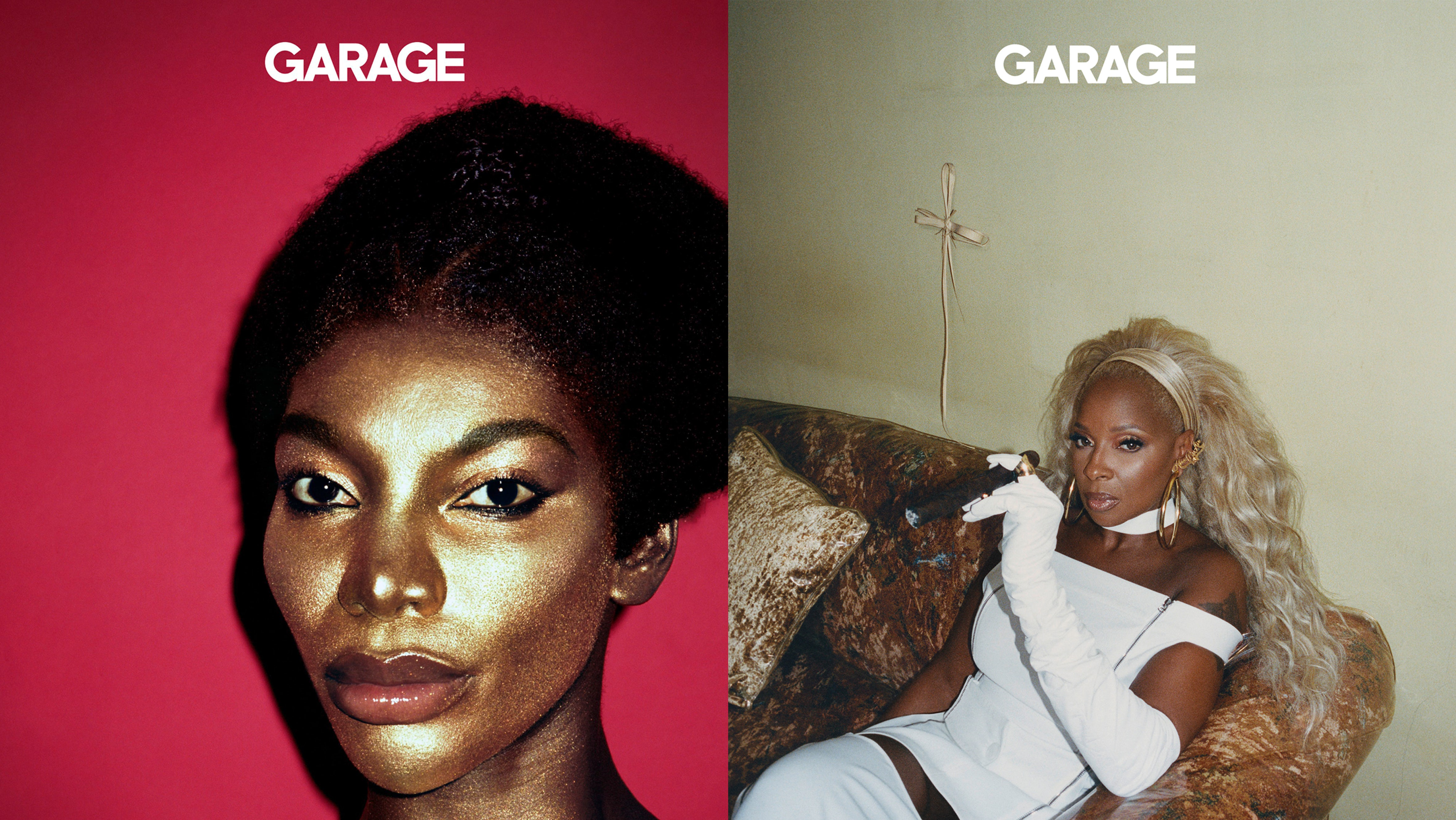 Garage Magazine Issue 19 featured Michaela Coel and Mary J. Blige. Garage Magazine.