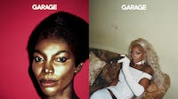 Recent Garage magazine covers with Michaela Coel by Liz Johnson Artur and Mary J. Blige by Renell Medrano. Courtesy