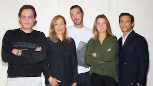 Alexandre de Betak, Benedicte Fournier Beckmann, Paco Raynal, Isabelle Chouvet and Guillaume Troncy. The Independents.