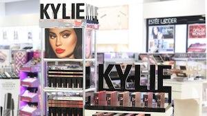 A Kylie Cosmetics display inside an Ulta Beauty store | Source: @ultabeauty via Instagram