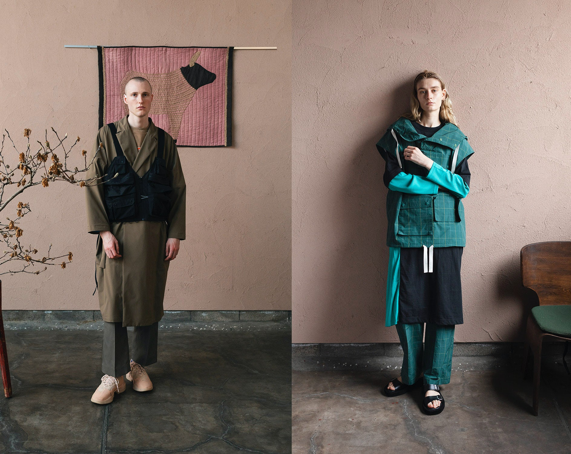 F/CE menswear and womenswear Spring/Summer 2022. F/CE.