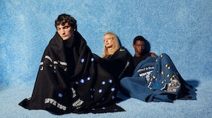 Blankets by Ken Claes for Raf Simons. History Of My World.