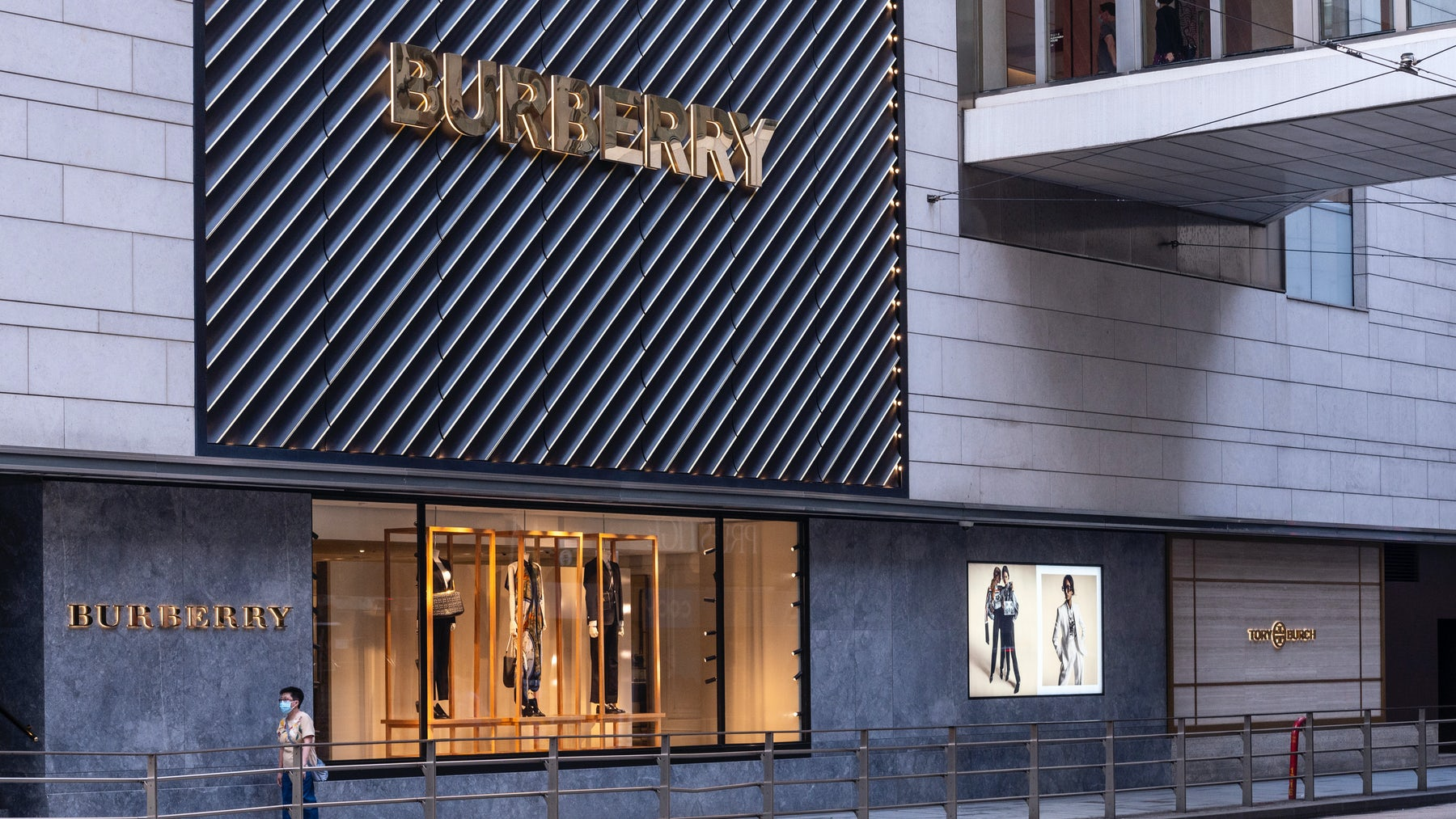 Burberry store in Hong Kong. Getty Images.