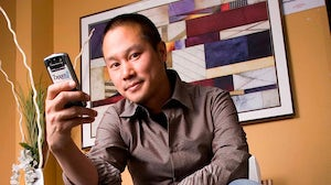 Tony Hsieh, CEO of Zappos | Source: Wikimedia
