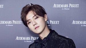 Lu Han had been a brand ambassador for Audemars Piguet since 2018. Lu Han Studio Official Weibo