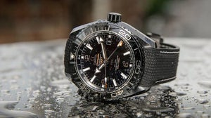 An Omega watch. Omega.
