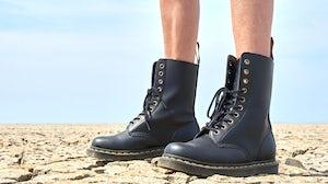 Dr Martens boots. Shutterstock.