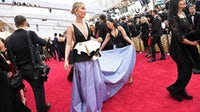 Even with a decline in viewership and no red carpet, fashion is still eager to dress celebrities for awards shows. Getty Images.