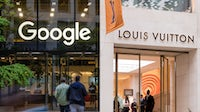 LVMH and Google's team-up could be a sign the luxury sector is finally leaning into a technology-heavy future. Getty.