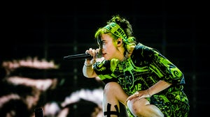 Billie Eilish performs at a festival in The Netherlands in 2019. Shutterstock