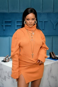 Rihanna at the launch of Fenty at Bergdorf Goodman in New York City in February 2020. Getty Images.