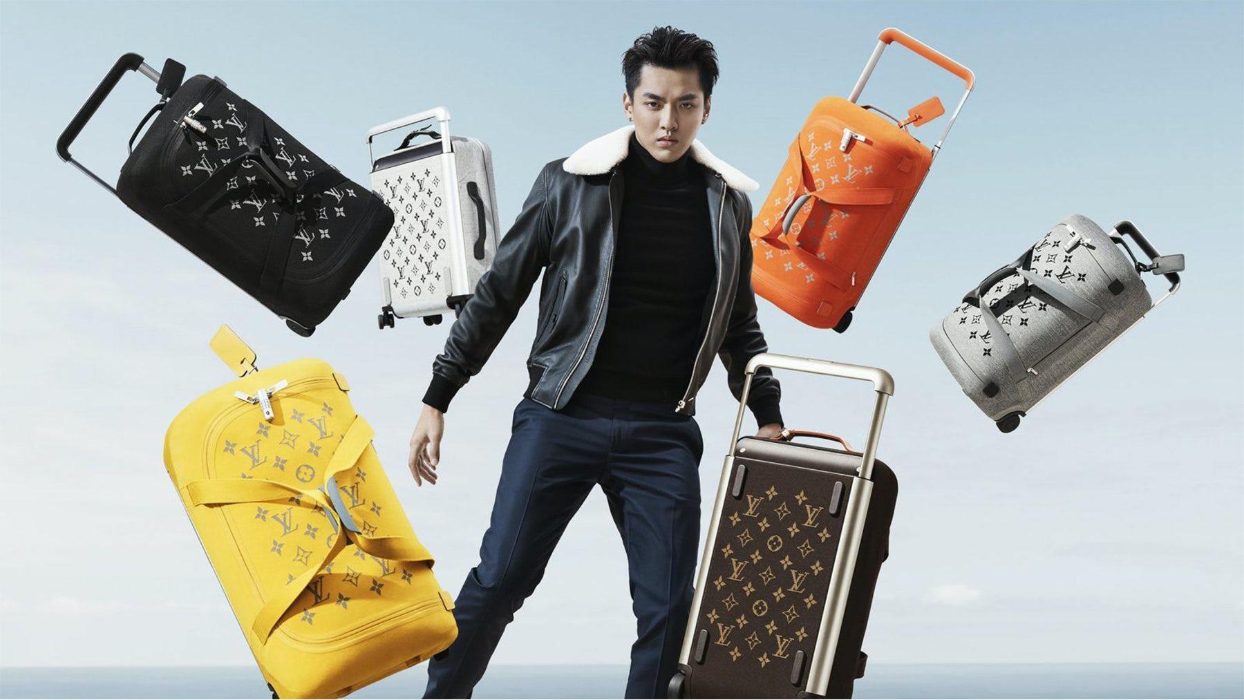 Louis Vuitton\'s campaign featuring actor and rapper Kris Wu. Louis Vuitton.