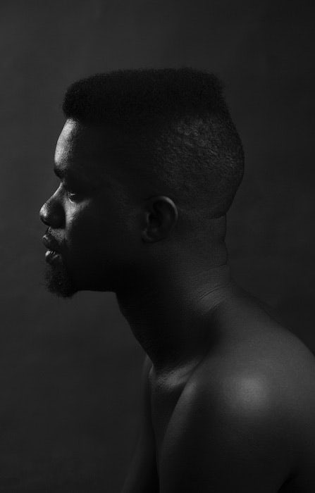Portrait of Stephen Tayo by Bami Ogungbe.
