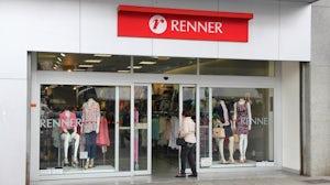 Lojas Renner store in Brazil. Shutterstock.