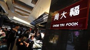 Chow Tai Fook. Reuters