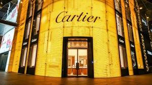 Cartier store front in Shanghai. Shutterstock.