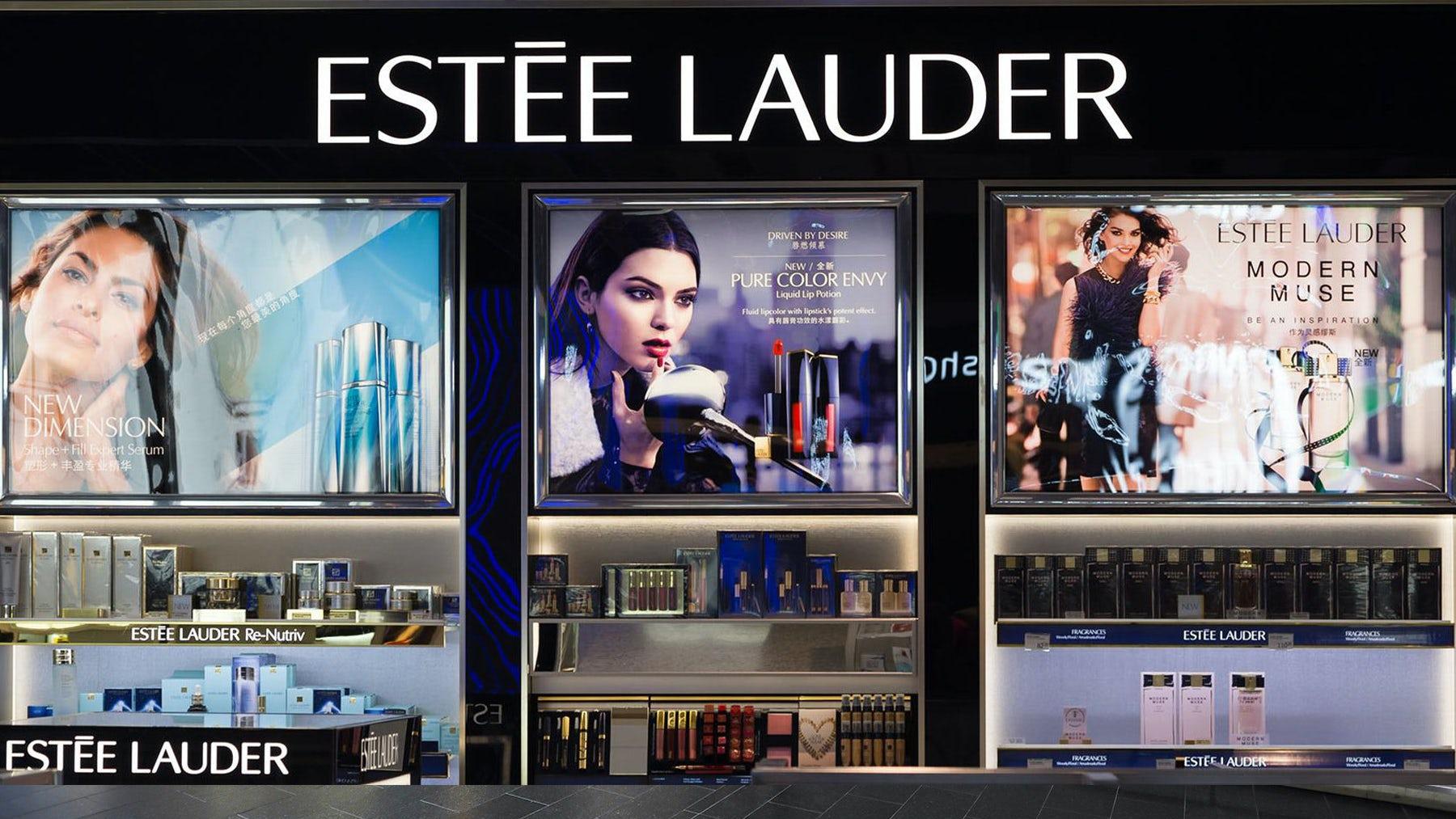 An Estée Lauder storefront. Shutterstock.
