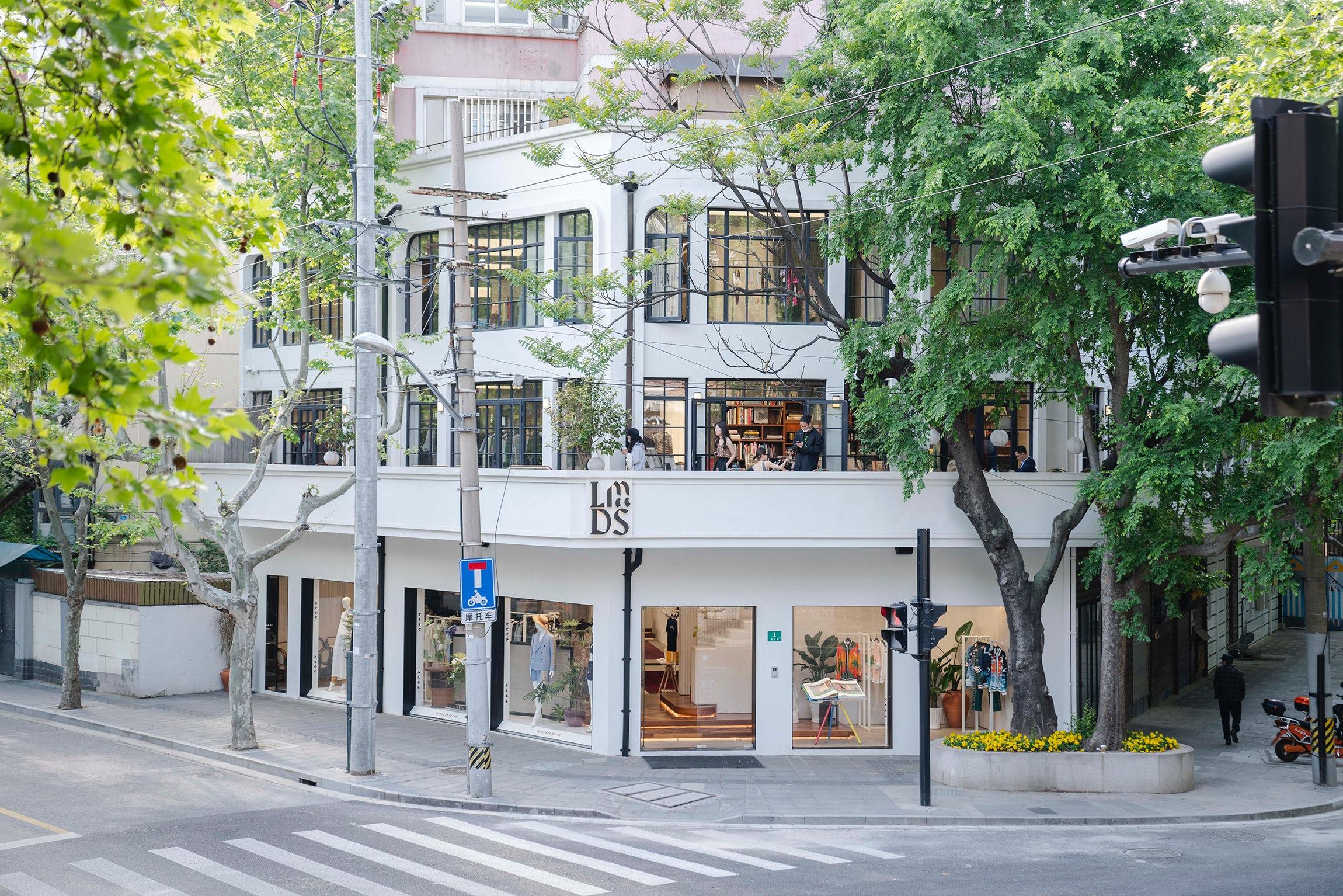 Le Monde de SHC\'s boutique in Shanghai\'s French concession. Le Monde de SHC.
