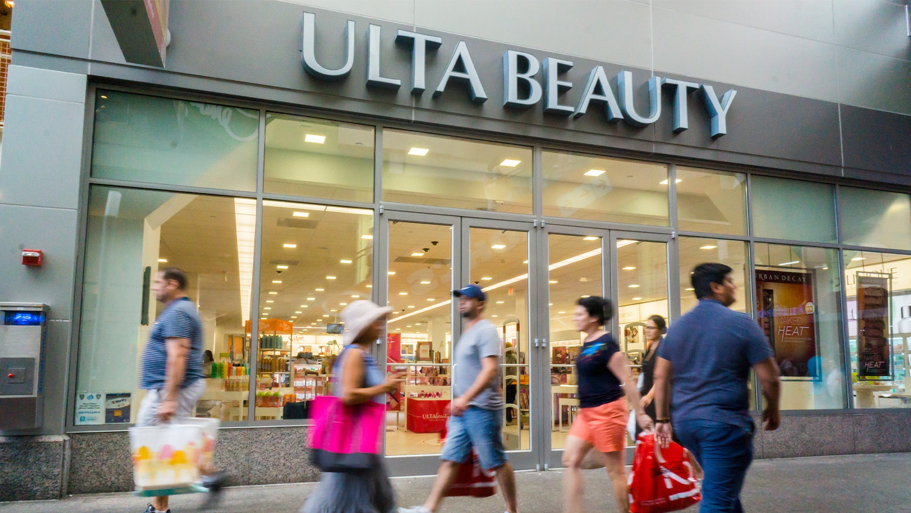 An Ulta Beauty store in New York City. Shutterstock.