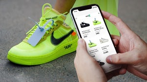 Nike Air Force 1 Low Off-White Volt | Source: Getty Images / StockX