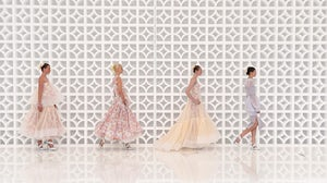 Maticevski show at Mercedes Benz Fashion Week Australia. MBFA Australia