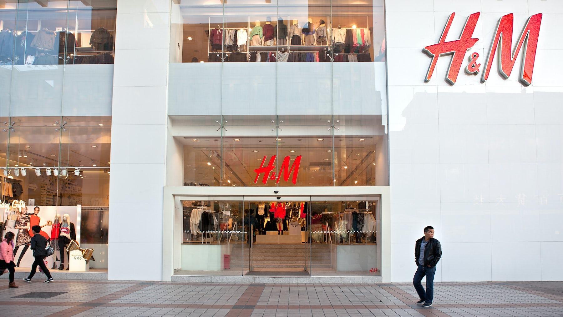 H&M Store, Beijing. Shutterstock.