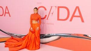 Jennifer Lopez at the 2019 CFDA Fashion Awards. Shutterstock.