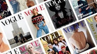 International Vogue covers. Courtesy