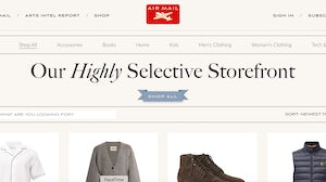 Graydon Carter-led Air Mail has launched a marketplace.