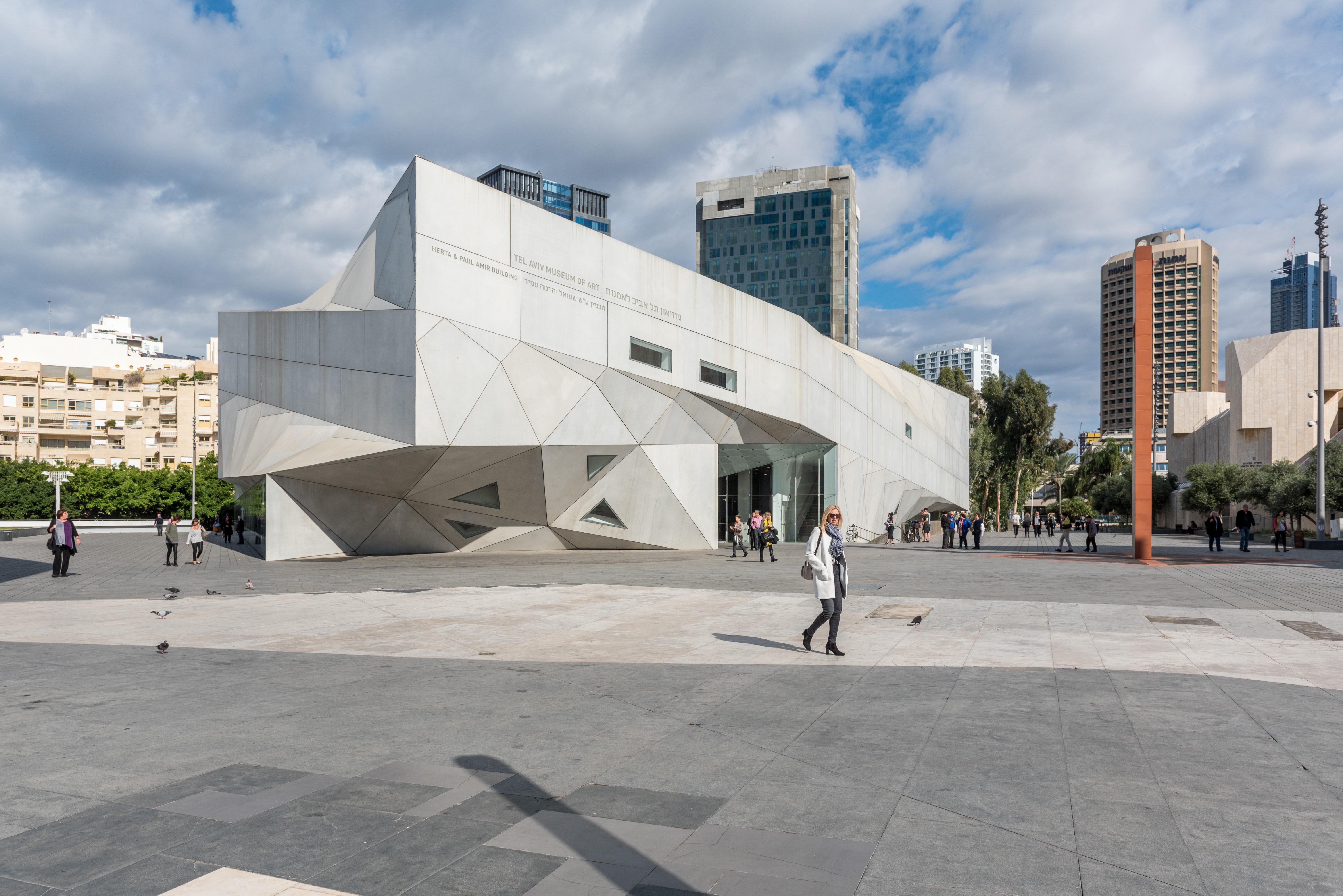 The Tel Aviv Museum of Art. Getty Images.