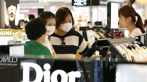 A duty-free store in Seoul, South Korea. Getty Images.