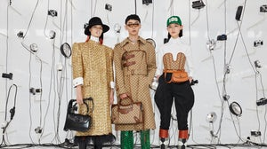 Some of the new looks making their debut on the Shanghai runway. Gucci