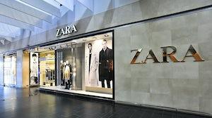 Zara store. Shutterstock.