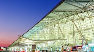 Guangzhou Baiyun International Airport in China. Shutterstock.
