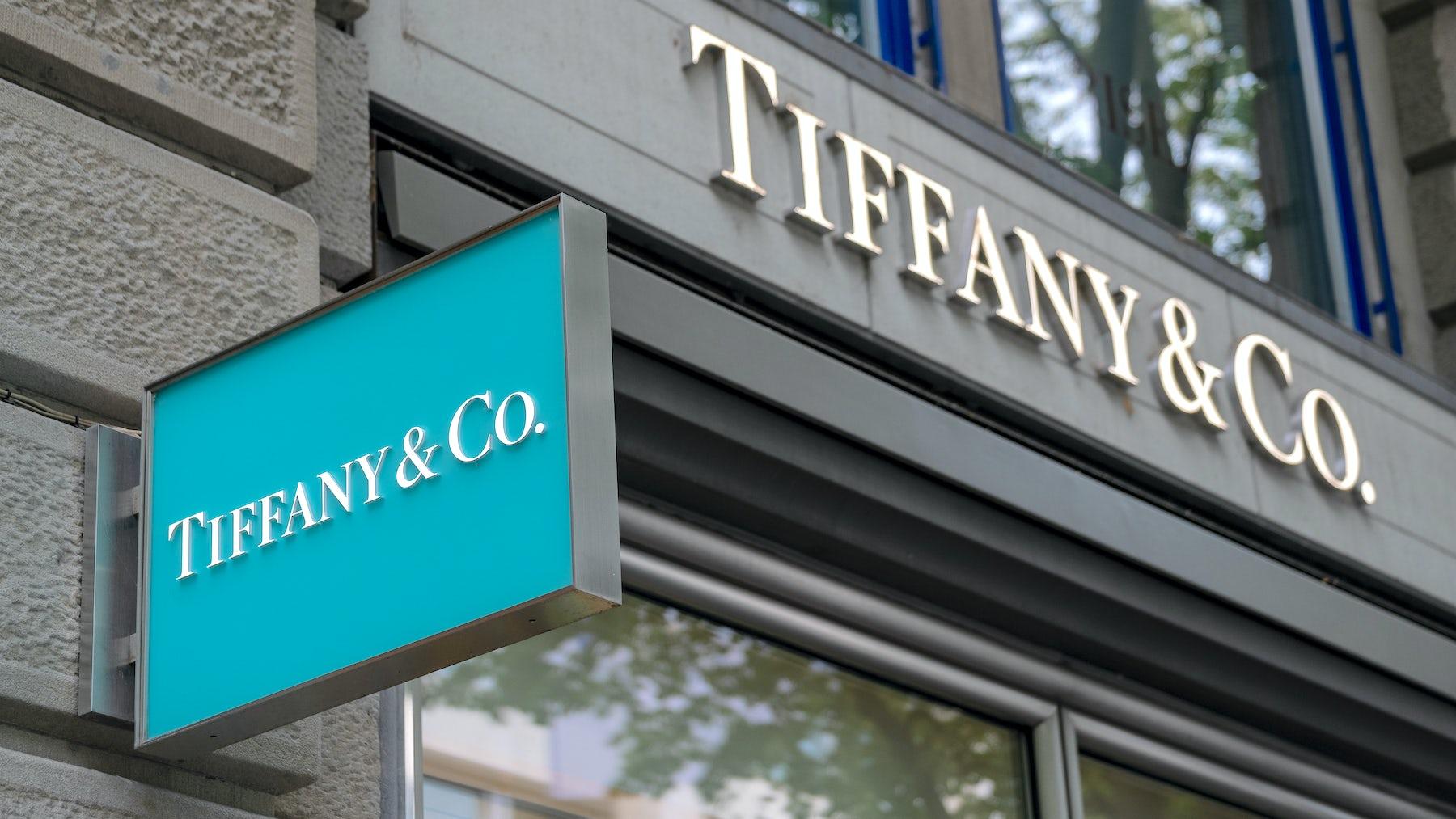 A Tiffany & Co. store in Zurich   Source: Shutterstock