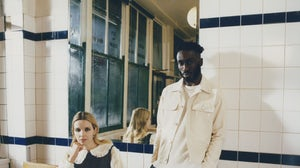 Artists Kojey Radical and Greta Bellamacina, who appear in Ted Baker's spring campaign, are the first guests in the brand's upcoming Clubhouse session. Courtesy.