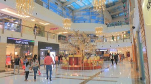 DLF Place Shopping mall in New Delhi. Shutterstock.