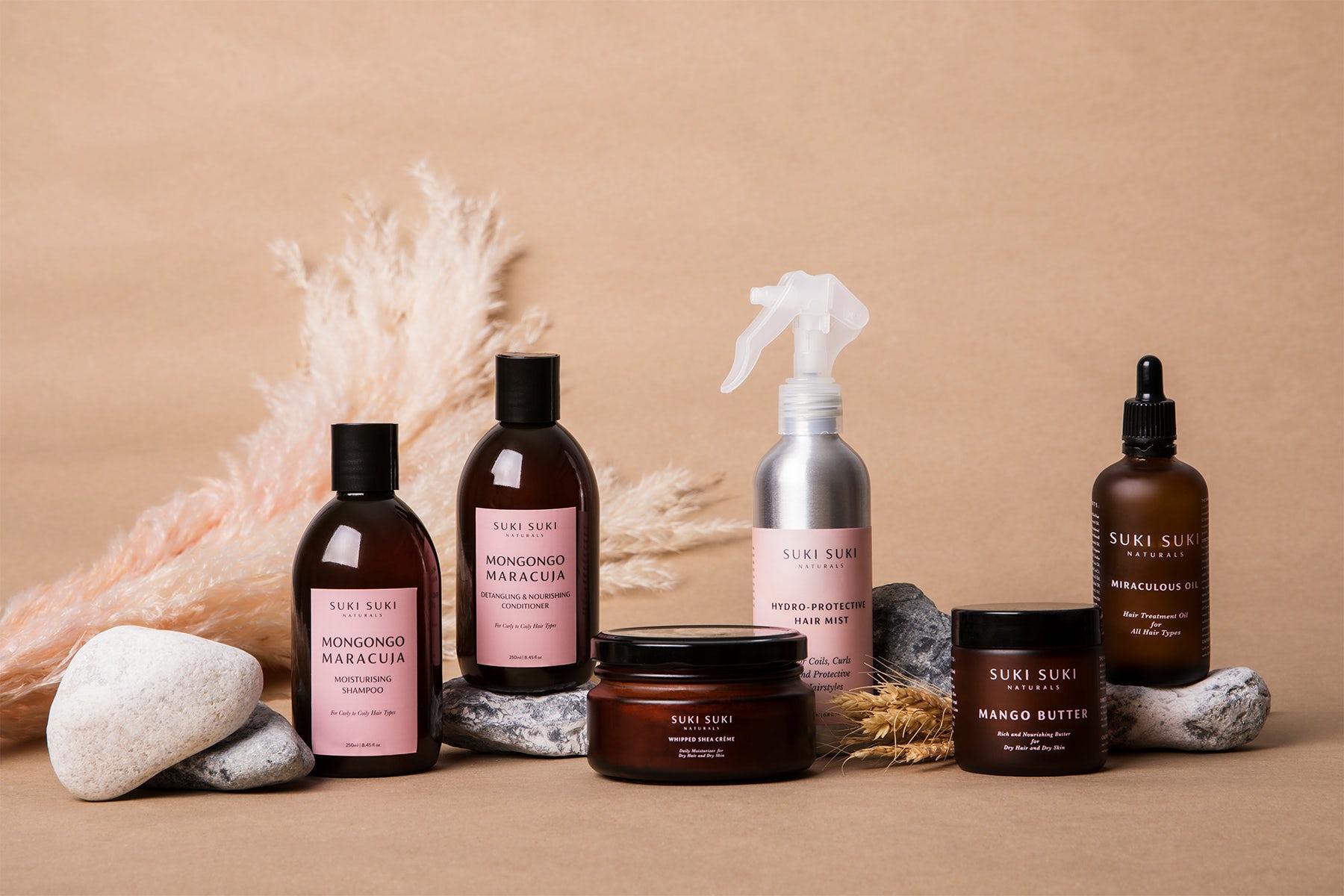 Suki Suki Naturals haircare products. Suki Suki Naturals.
