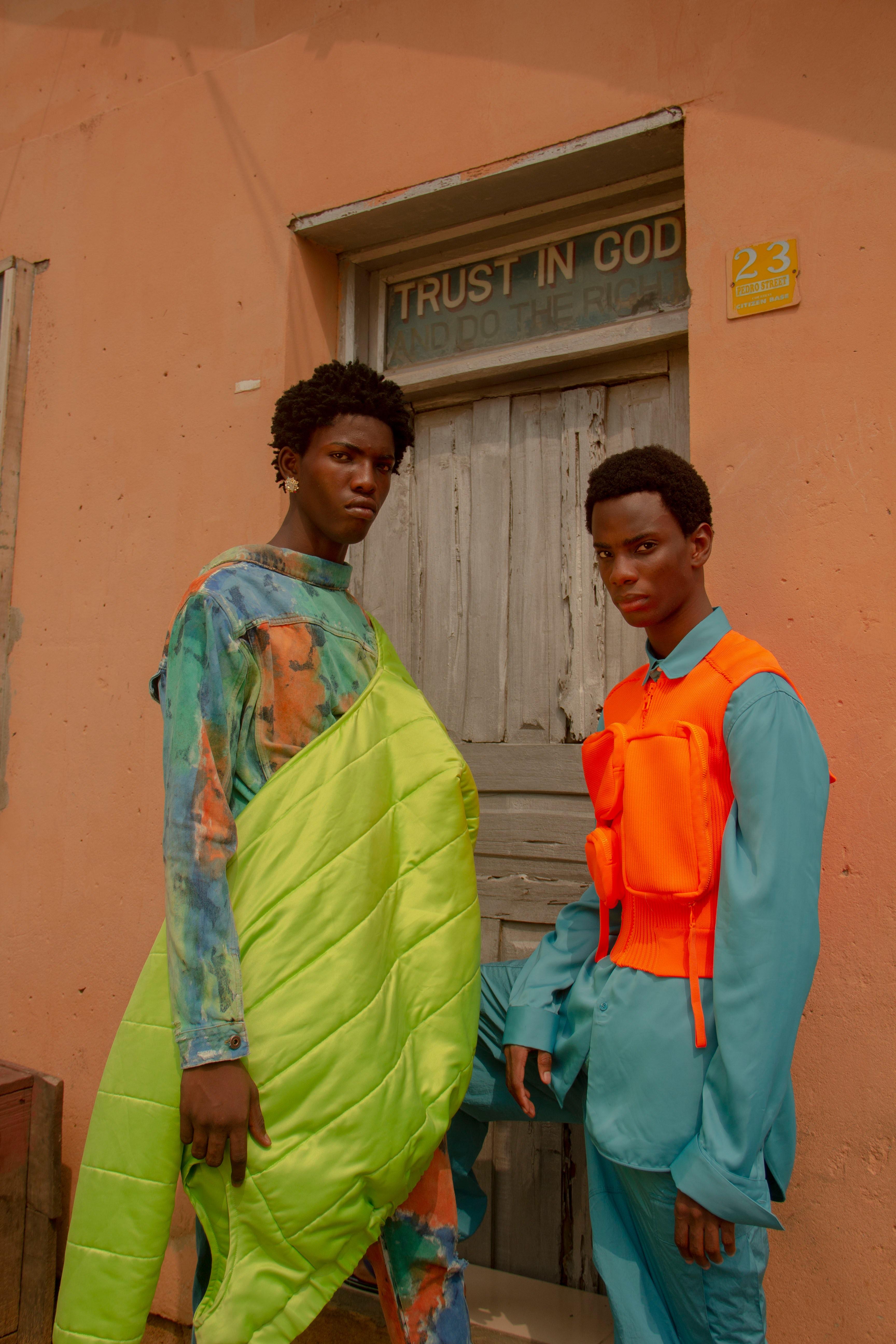 Nigerian Fashion Photographer, Stephen Tayo. Stephen Tayo.