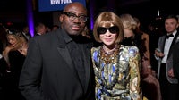 British Vogue editor Edward Enninful and American Vogue editor Anna Wintour have new global responsibilities at Condé Nast. Ryan Emberley/amfAR/Getty Images