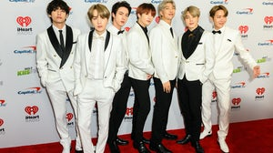 BTS at the KIIS FM's iHeartRadio Jingle Ball at the Forum Los Angeles, California on December 6, 2019. Shutterstock.