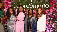 From left: Star Jones, Lauren Wesley Wilson, Whoopi Goldberg, Sunny Hostin at ColorComm 10 Year Anniversary Luncheon on October 01, 2021 in New York. Getty Images.