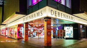Debenhams store. Shutterstock.